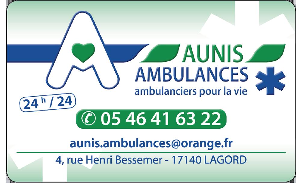 Aunis Ambulance avec Le Run des Pertuis